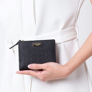 Kate Spade Laurel Way Small Shawn Leather Wallet
